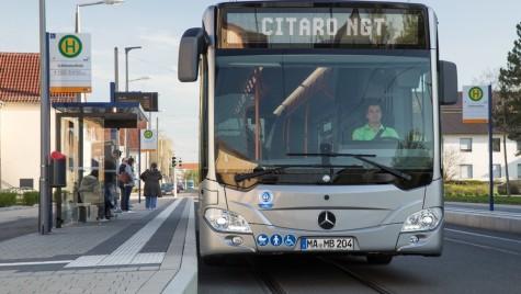 Mercedes Citaro CNG, pe străzile Capitalei!