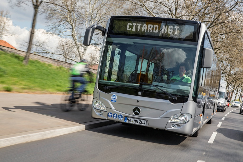 Test Vehicle Mercedes-Benz Citaro NGT