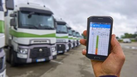 Optifleet de la Renault, monitorizează performanța șoferilor