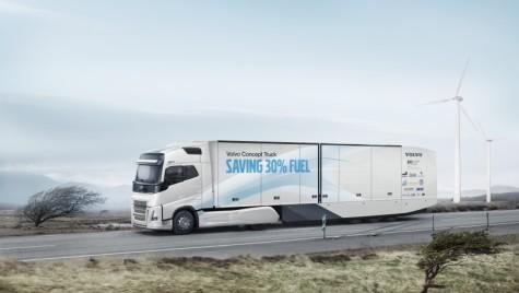 Volvo Concept Truck economisește o treime din combustibil