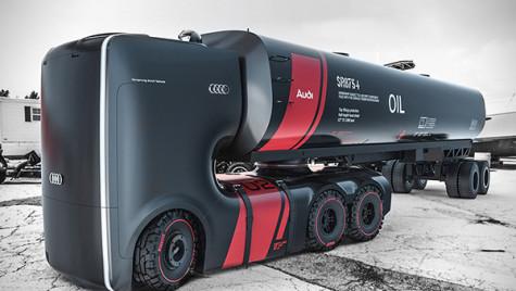Flota secolului XXII: camioanele Audi