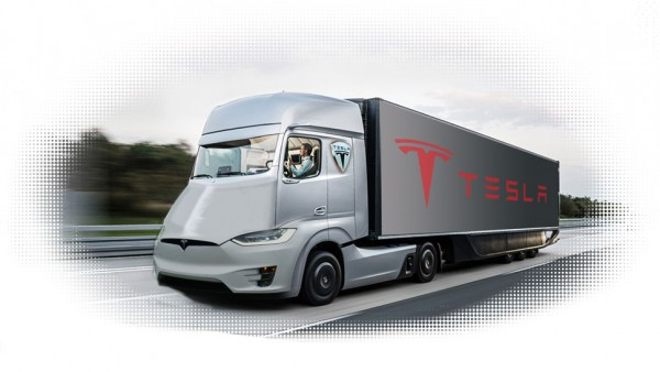 Camion Tesla Semi by Jason Torchinsky
