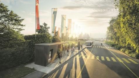 Autobuzele viitorului devin realitate azi, în Geneva!