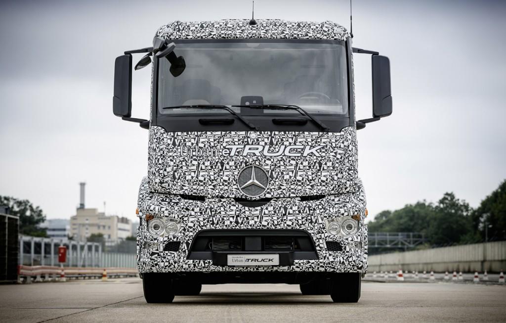 Mercedes Benz Urban e-Truck