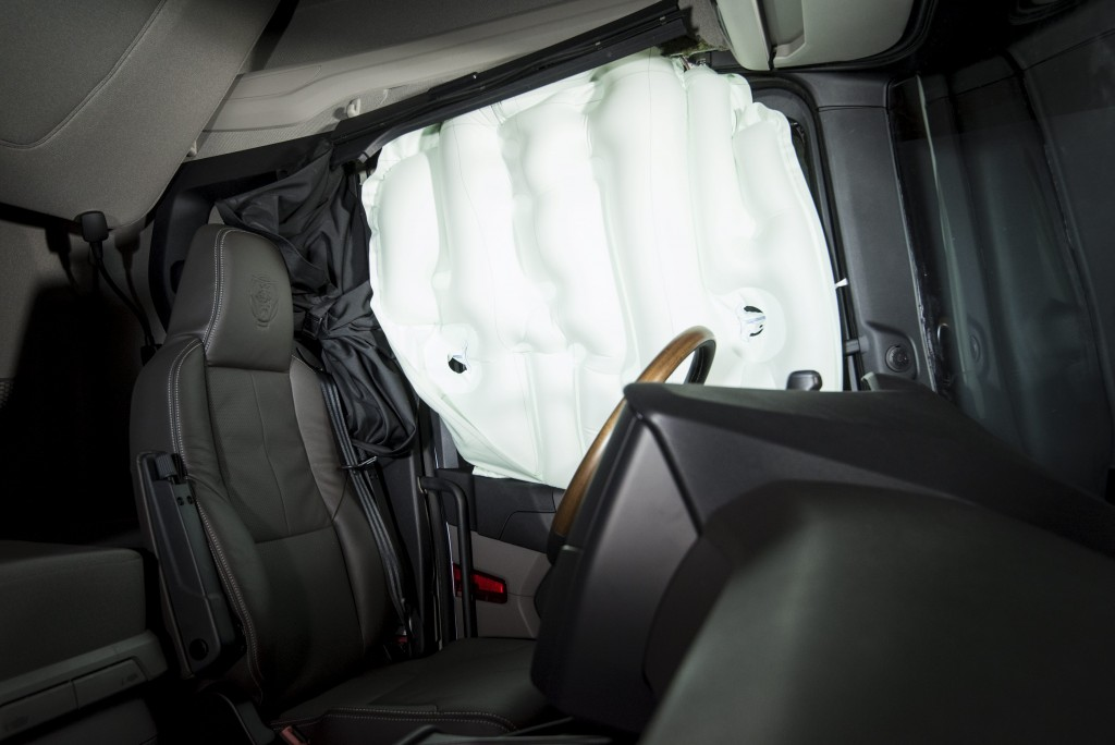 Scania airbag cortina