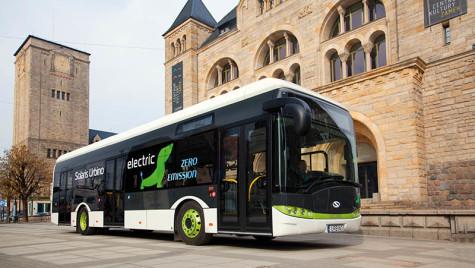 Solaris Urbino electric este autobuzul anului 2017