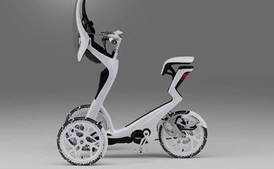 Un nou vehicul concept de la Yamaha pentru oraşe aglomerate