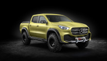 Mercedes-Benz Concept X-CLASS powerful adventurer – culoare specială - Lemonaxmetallic