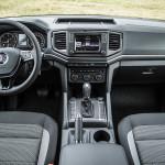 Interiorul este tipic unui SUV.