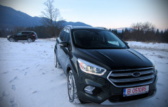 Ford Kuga facelift. Primul test din România