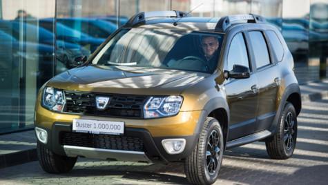 Dacia a produs modelul Duster cu numărul 1.000.000, la uzina de la Mioveni
