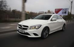 Petrecerea continuă. Test cu Mercedes-Benz CLA 2014