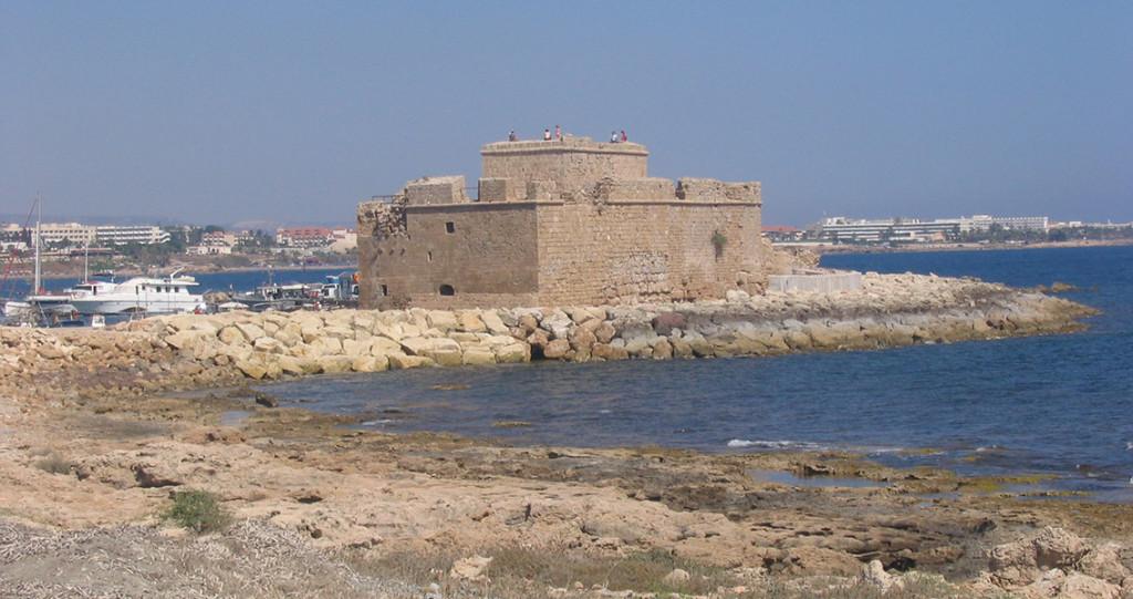 Pafos. Castel din perioada medievală