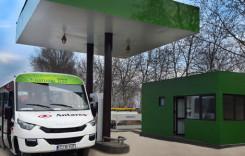 Reţea de staţii pentru alimentarea maşinilor cu gaz natural comprimat