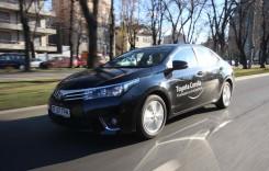 Conservatoare. Test cu Toyota Corolla 2014