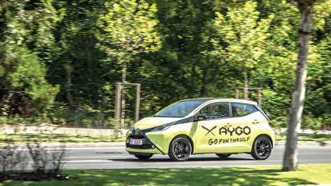 Test drive Toyota Aygo 1.0 x-cite