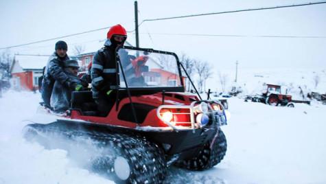 Peste 1000 de autospeciale MAI pe teren, contra efectelor zăpezilor
