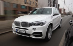 Drum cu prioritate. Test BMW X5 M 2014