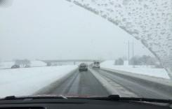 Cod Roşu de viscol. Traficul rutier este restricţionat total în Călăraşi, Constanţa, Brăila şi Ialomiţa