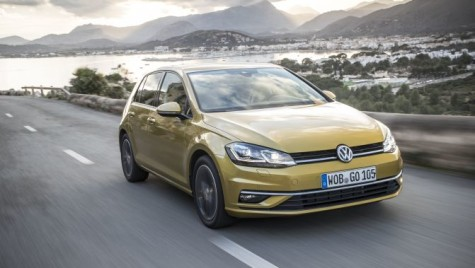 Primul drive test VW Golf 7 facelift