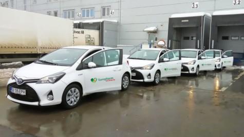 Europharm Distribuţie şi-a înlocuit flota de autoturisme cu vehicule hibride