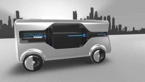 Un nou concept. Autolivrare de la Ford