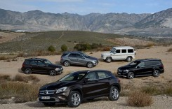 Test Mercedes-Benz GLA 2013. Sus pe toc