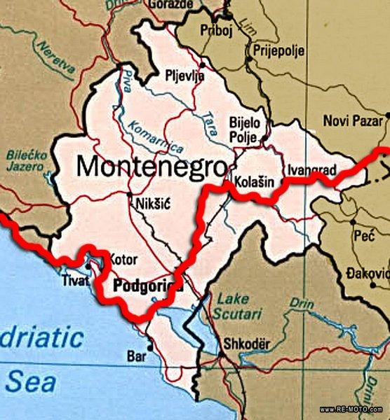 Muntenegru Restricții De Circulație In Perioada Martie Mai 2017