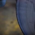 O margine metalică în relief pe discul de frână este un indiciu de uzură