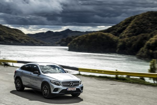 Benz GLC 250 d 4Matic Coupe.