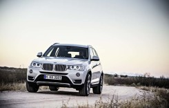 Test BMW X3 2014 facelift. Let's play