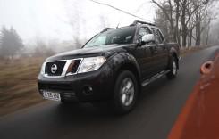 Test Nissan Navara 2014. La munca de sus