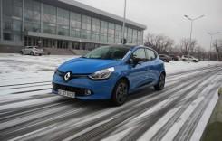 Test Renault Clio 2014. Pauza de ambreiaj