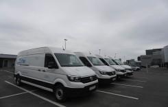 Volkswagen Crafter a debutat în România