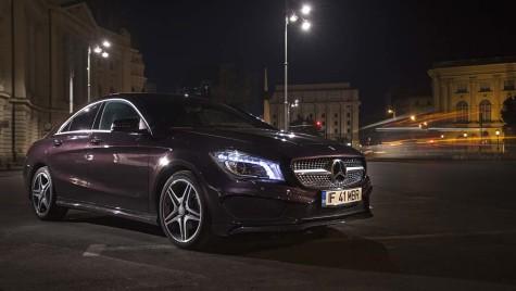 Test Mercedes-Benz CLA 2014. Veriga lipsă
