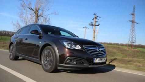 Test Opel Insignia Tourer 2014. Nişa nişelor