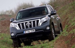Test Toyota Land Cruiser 2014. Pe faţă