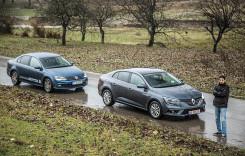 Test comparativ. Renault Megane Sedan și VW Jetta