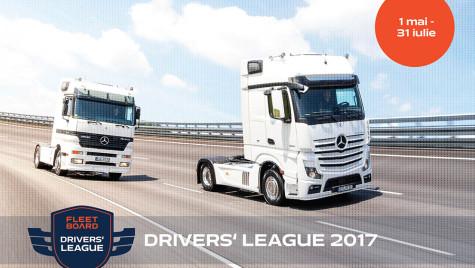 Concurs pentru șoferi în Fleetboard Driver's League 2017