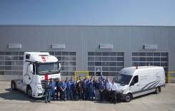 Mercedes-Benz București lansează serviciul de vopsitorie dedicat vehiculelor comerciale grele