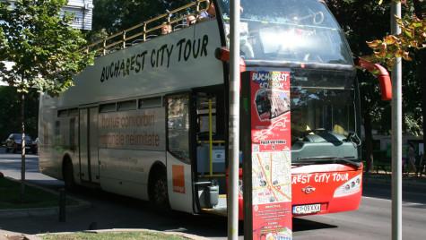 Autobuzele liniei turistice RATB vor circula pe un traseu modificat, sâmbătă şi duminică