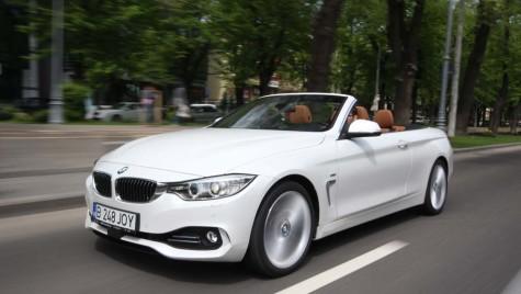 Test BMW 428i 2014. Liber la cer