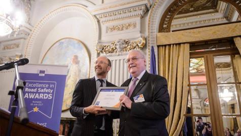 Premiu acordat României pentru siguranță rutieră
