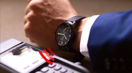 Ceasul care înlocuieşte cardul de cumpărături