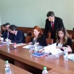 Semnarea contractului de către reprezentanții Anadolu Isuzu în România, Anadolu Automobil Rom S.R.L.