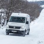 Pe drumurile înzăpezite ale României