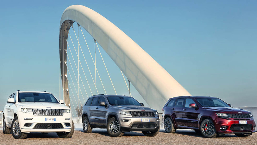 Jeep Grand Cherokee range