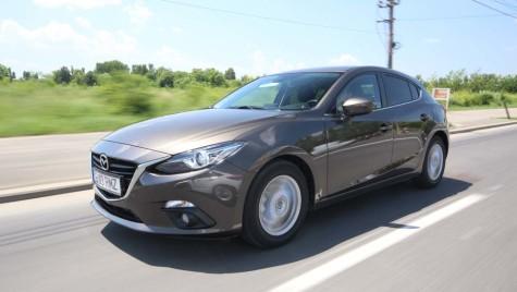 Test Mazda 3 – 2014. Suflet mare