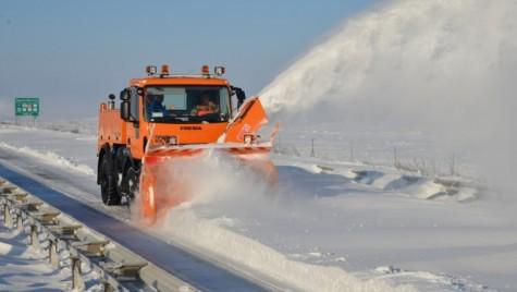 O porţiune din A2 şi 8 drumuri naţionale sunt închise