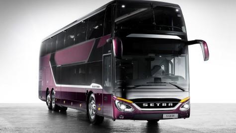 Mercedes-Benz prezinta noul autocar etajat Setra S 531 DT